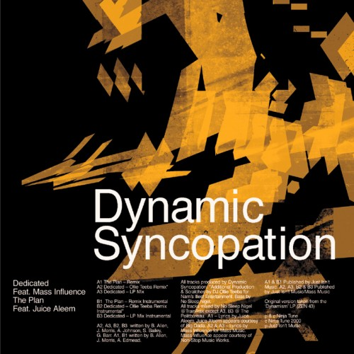 The Plan. Dedicated Remixes - Dynamic Syncopation
