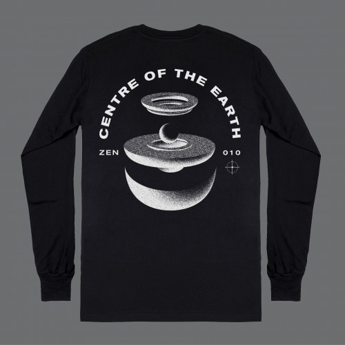 Centre Of The Earth Long Sleeve Tee -